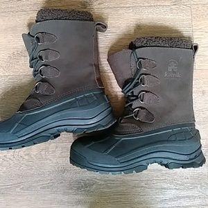 Kamik men's insulated snow waterproof boots sz.9